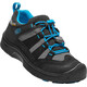 Keen Hikeport WP Shoes Youths Black/Blue Jewel